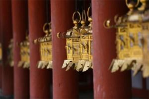 Nara temple lanterns