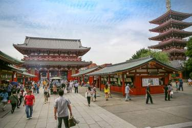 Tokyo: Sensoji temple