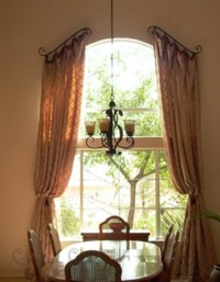 Arched Window Treatments Curtains | Window Treatments ...