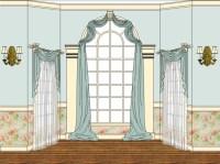 Arched Window Treatments DIY   Window Treatments Design Ideas
