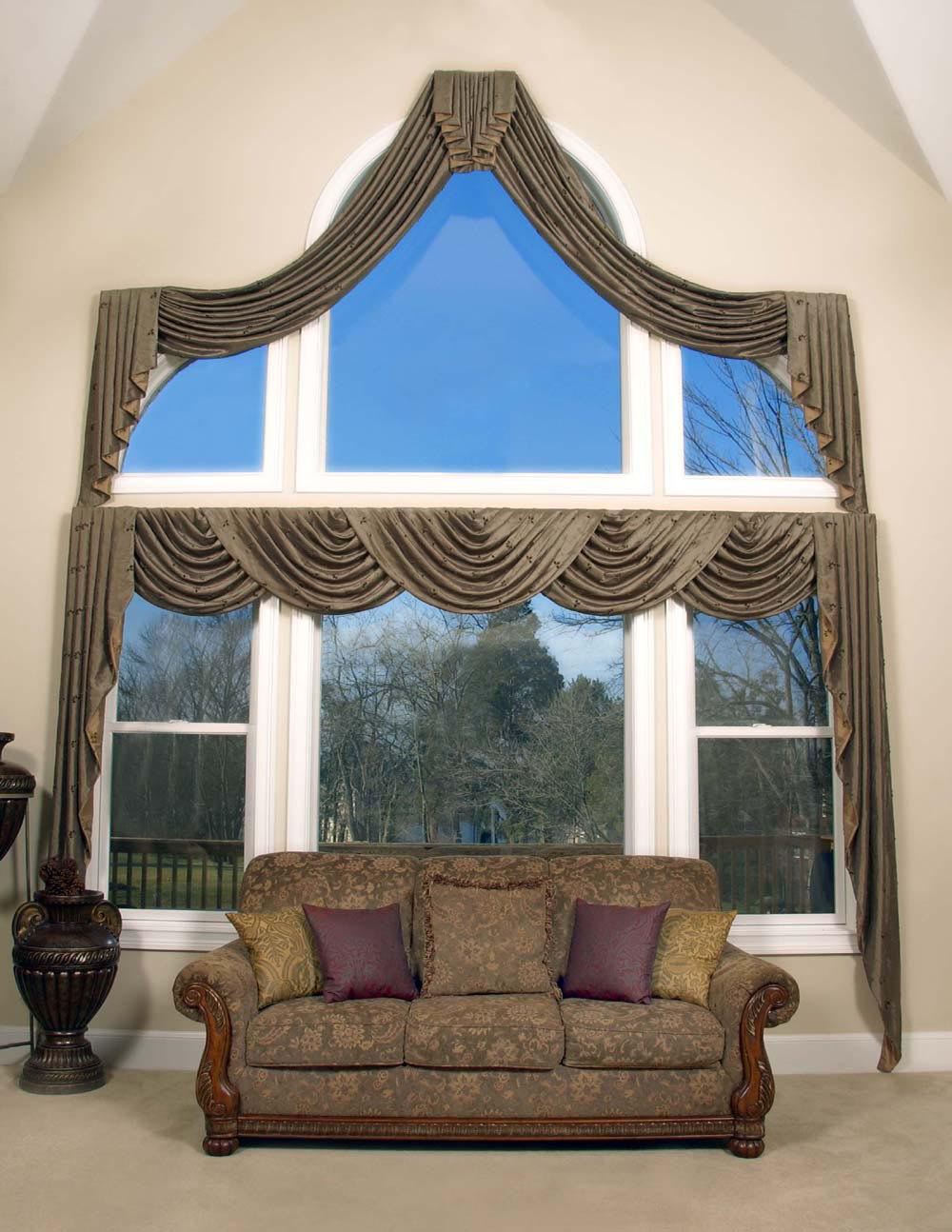 Arched Window Treatments Ideas