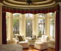 Bow Window Treatments Ideas   Window Treatments Design Ideas