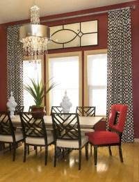 Contemporary Drapes Window Treatments | Window Treatments ...