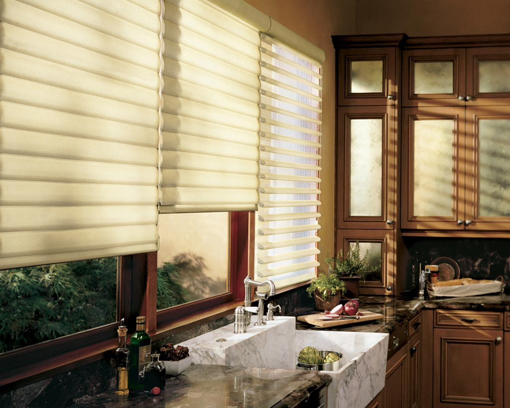 modern kitchen window treatments cabinet refacing ideas contemporary