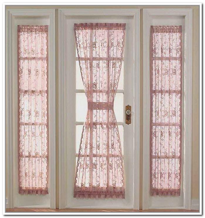 Door Window Curtains & Front Door Window Curtains Design
