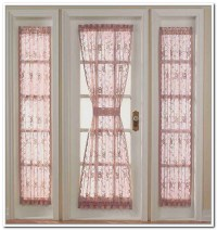 Door Window Curtains & Front Door Window Curtains Design