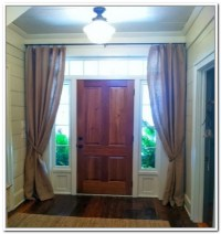 Front Door Window Treatments | Window Treatments Design Ideas
