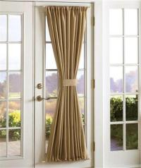 Sidelight Door Panel Window Treatments