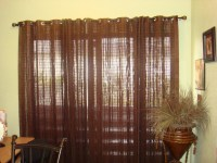 Sliding Glass Door Curtain Rod | Window Treatments Design ...