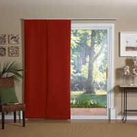 Sliding Patio Door Curtain Panels | Window Treatments ...