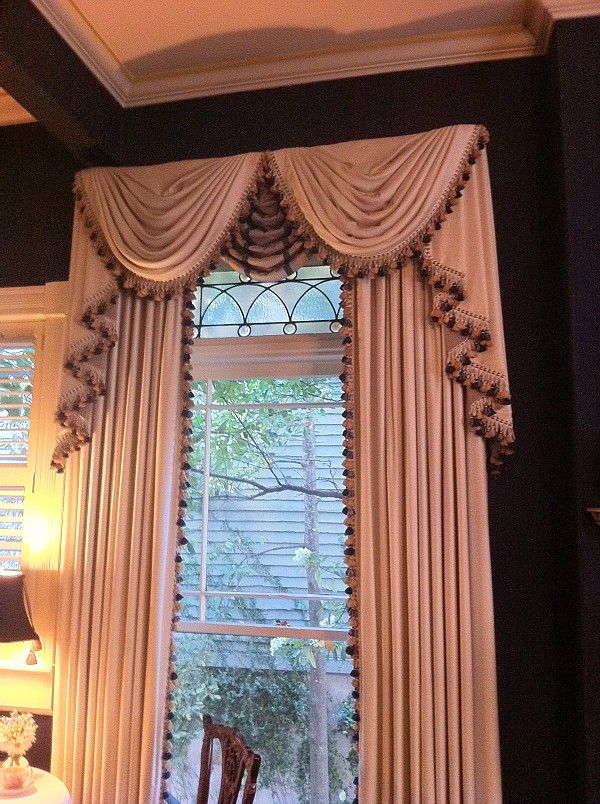 swag curtains for living room custom valances and swags for living room 18127