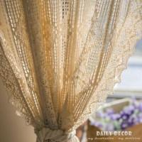Vintage Crochet Curtain Patterns | Window Treatments ...