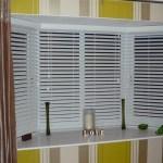 Bay Window Vertical Blinds Window Treatments Design Ideas