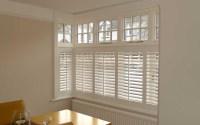 Blinds Square Bay Window | Window Treatments Design Ideas