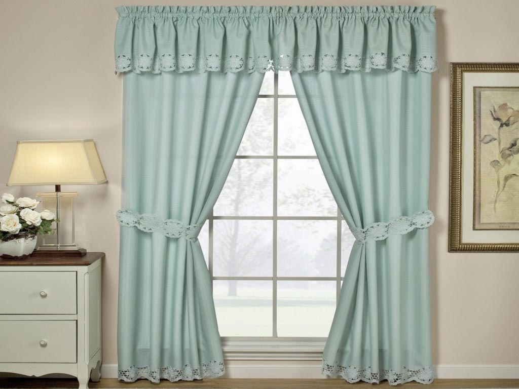 country style kitchen curtains island plans valances optimal solution for your