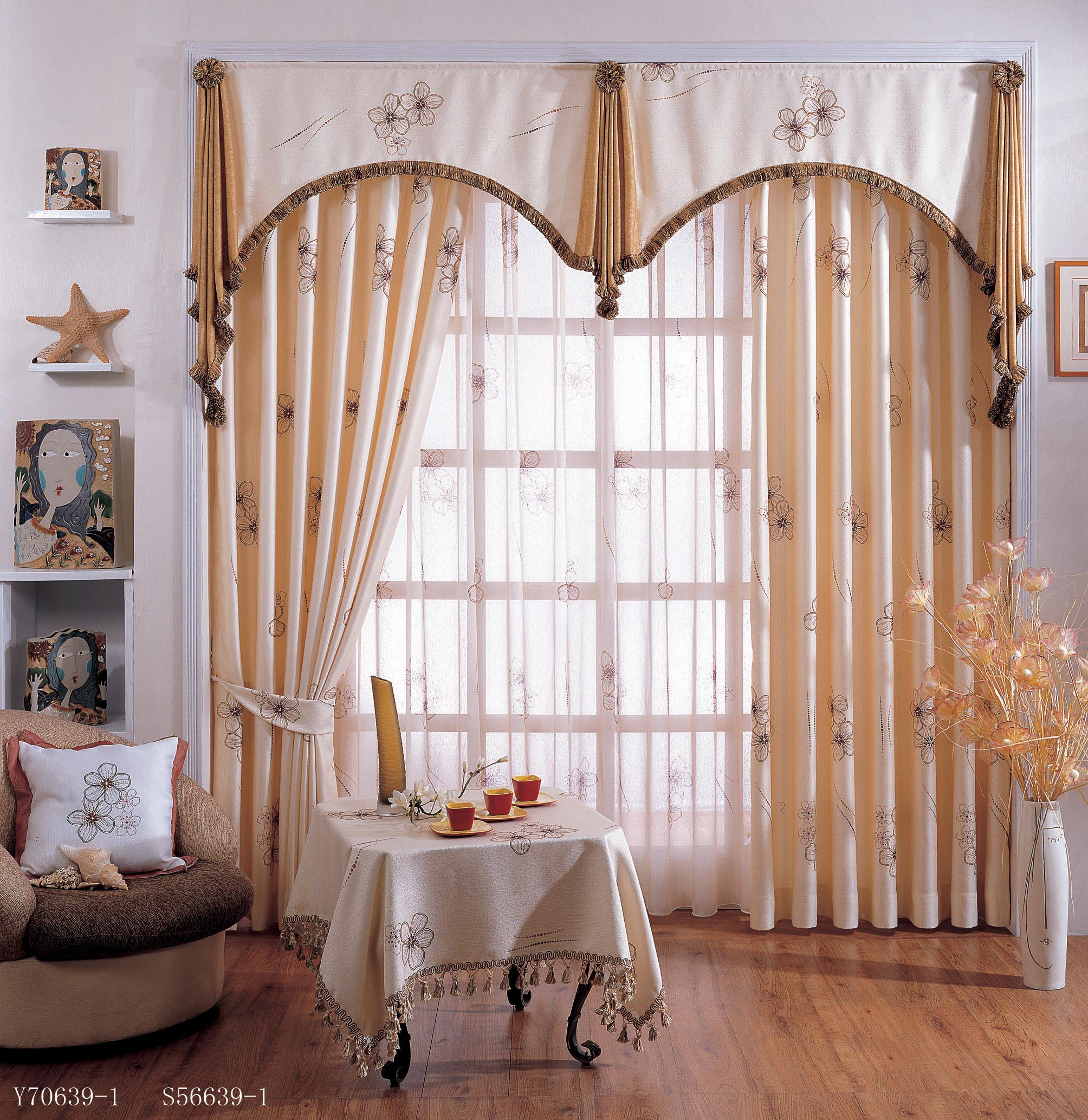 Curtain Valances For Living Room