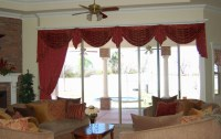 Curtains With Valance For Living Room | Window Treatments ...