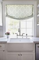 Custom Kitchen Window Valance   Window Treatments Design Ideas