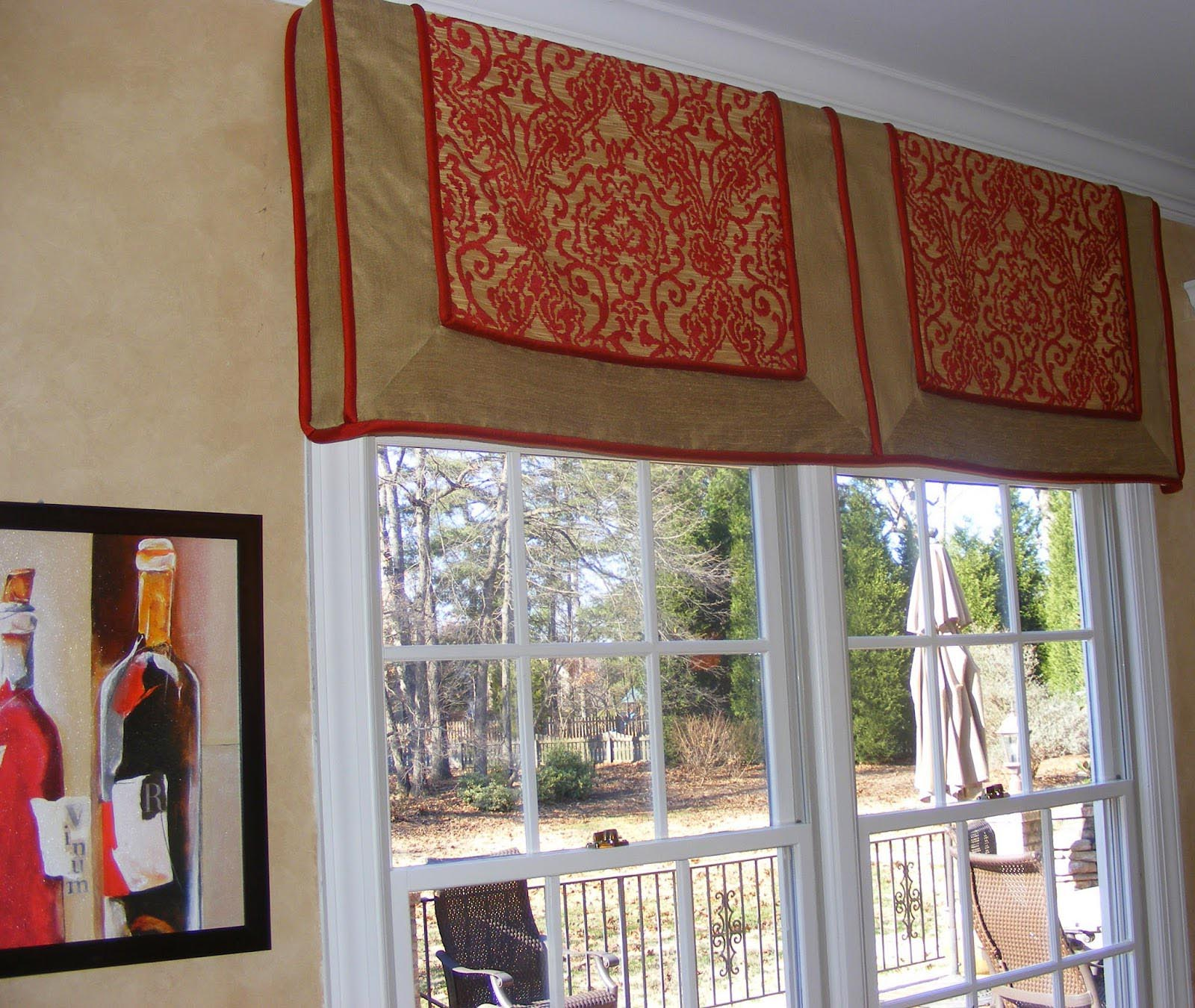 Custom Valances Window Treatments