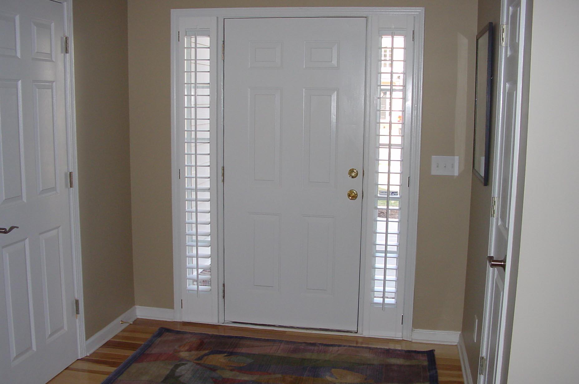 Door Window Blinds Functionality