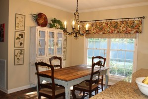 French Country Valances For Kitchen   Window Treatments ...