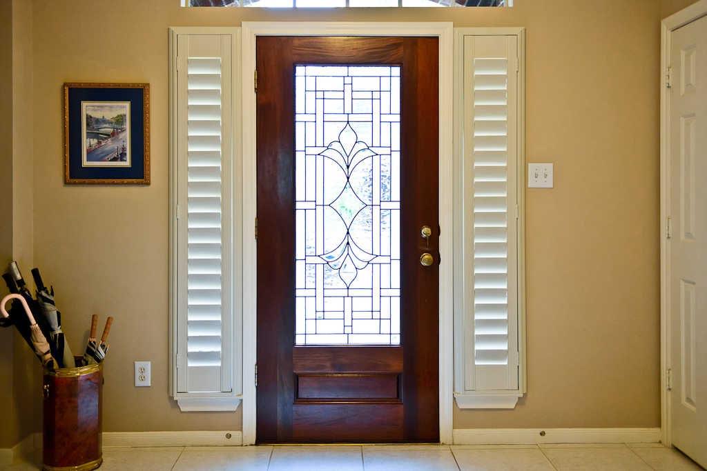 Front Door Side Window Blinds