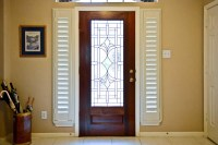 Front Door Side Window Blinds | Window Treatments Design Ideas