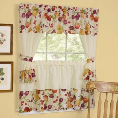 Valance Curtains For Kitchen Delta Izak Faucet Swags And Valances Window Treatments