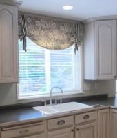 Kitchen Valances For Windows   Window Treatments Design Ideas