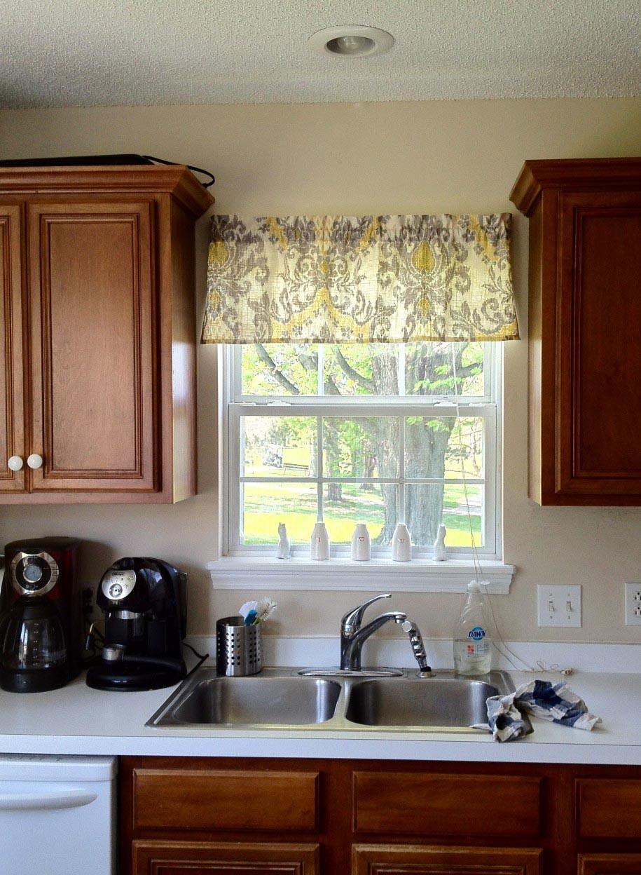 Kitchen Window Valance Ideas