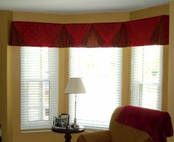 Charming Valances for Living Room   Window Treatments ...