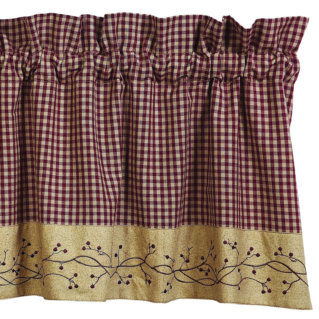 Primitive Country Curtains Valances
