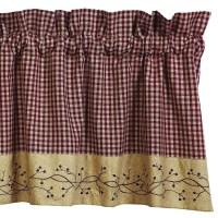 Primitive Country Curtains Valances   Window Treatments ...