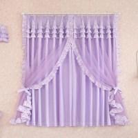 Purple Valance For Bedroom | Window Treatments Design Ideas