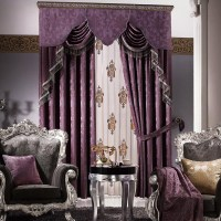 Purple Valances For Bedroom | Window Treatments Design Ideas