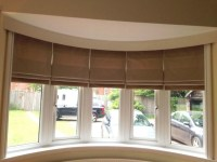 Roman Blinds Large Windows | Window Treatments Design Ideas