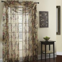 Sheer Scarf Valance Ideas | Window Treatments Design Ideas