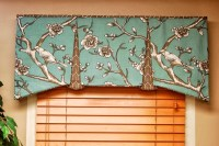 Tailored Valances For Living Room | Window Treatments ...