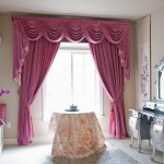 Valance And Swag Curtains Window Treatments Design Ideas
