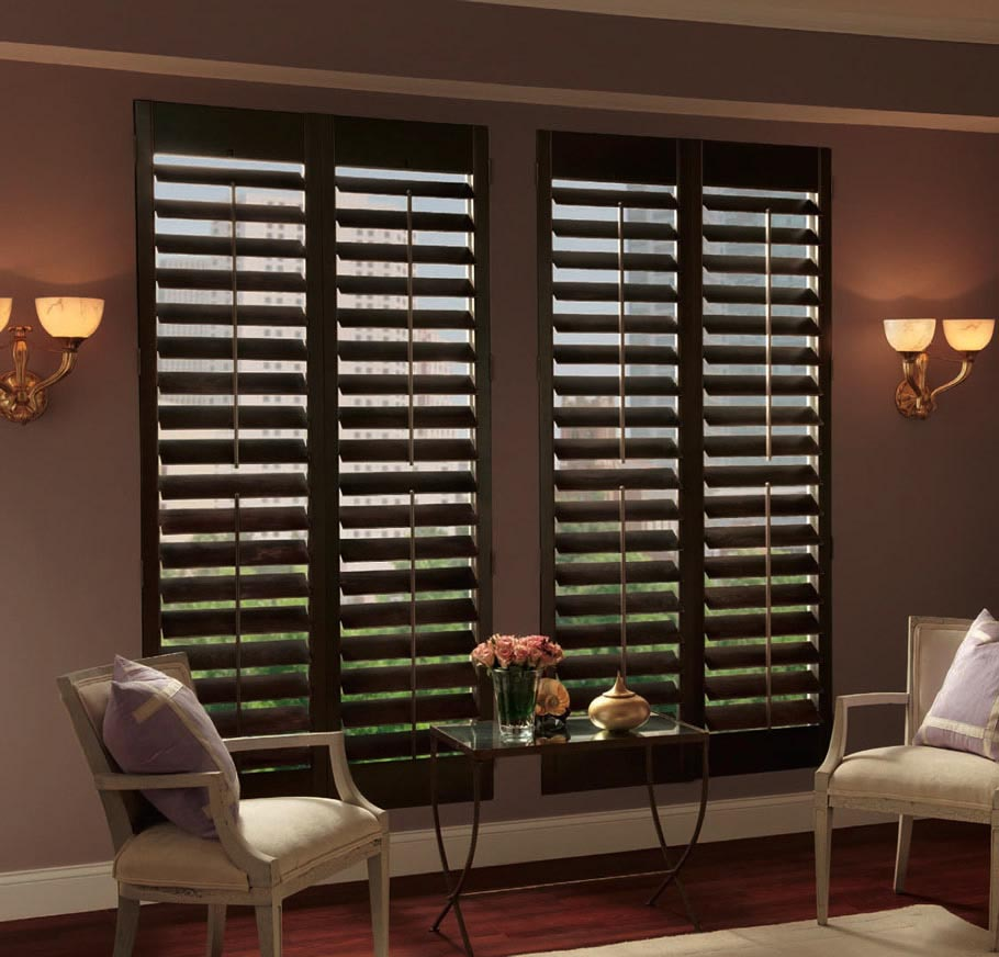 Wood Blinds For Windows  Window Treatments Design Ideas