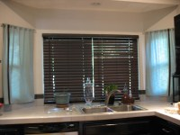 Wooden Blinds For Kitchen Windows | Window Treatments ...