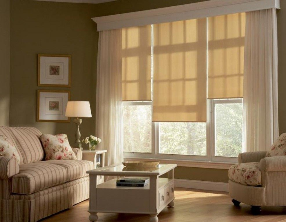 Charming Valances for Living Room  Window Treatments