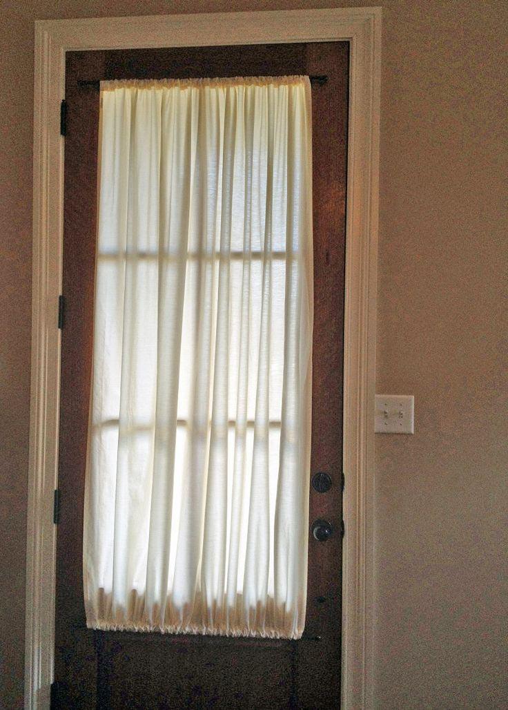 French Door Shades Velcro  Window Treatments Design Ideas