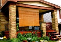 Outdoor Bamboo Shades For Porch | Window Treatments Design ...