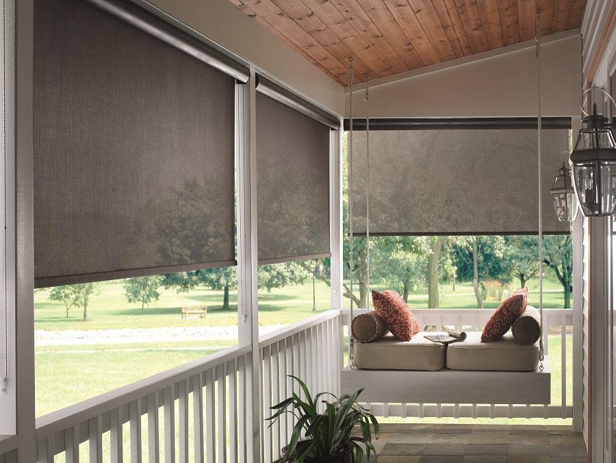 Outdoor Sun Shade For Porch  Window Treatments Design Ideas