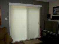 Patio Door Roller Shades   Window Treatments Design Ideas