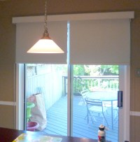 Roller Shades For Patio Doors | Window Treatments Design Ideas