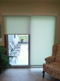 Roller Shades For Sliding Patio Doors | Window Treatments ...