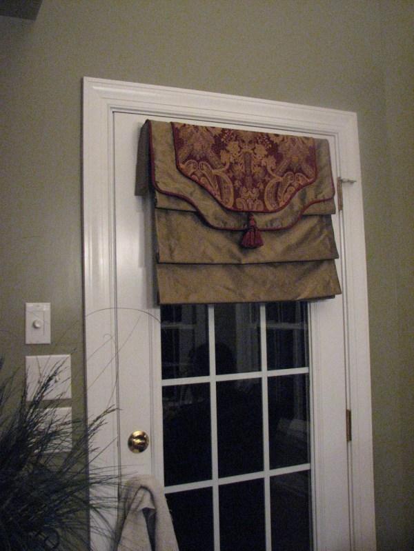 Roman Shades French Door Windows