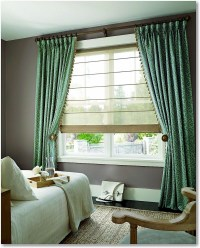 Sheer Roman Shades for Your Pleasure | Window Treatments ...